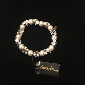 Cookie Lee fashion jewelry, stretch bracelet
